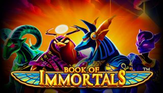 Book of Immortals Stoiximan Casino