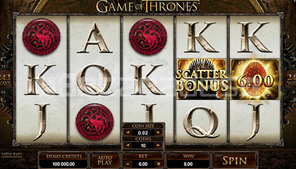 Game of thrones live game