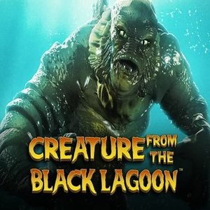Creature of the black lagoon slot logo