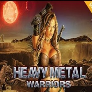 Heavy Metal warriors slot logo