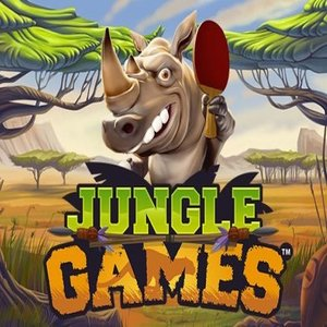 Jungle Games slot logo