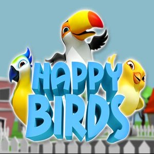 Happy birds slot logo