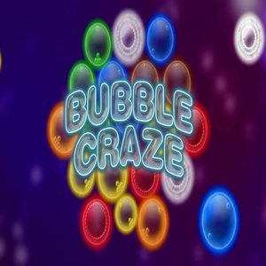 Bubble craze slot logo