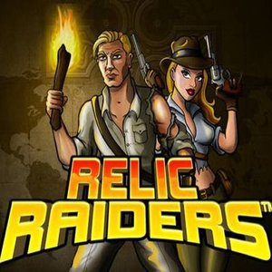 Relic Raiders slot logo