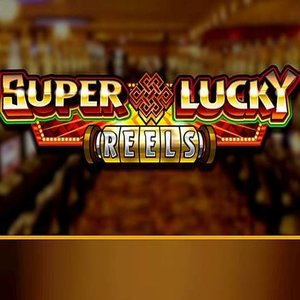Super Lucky Reels slot logo