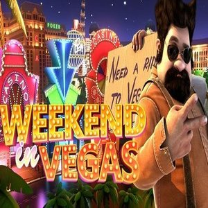 Weekend in Vegas slot logo