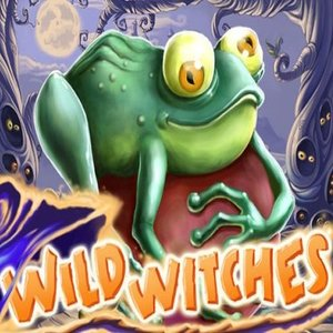 Wild witches slot logo