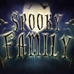 Spooky family slot logo