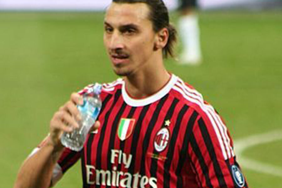 zlatan ibrahimovic milan player