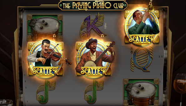 Vistabet The Paying Piano Club slot